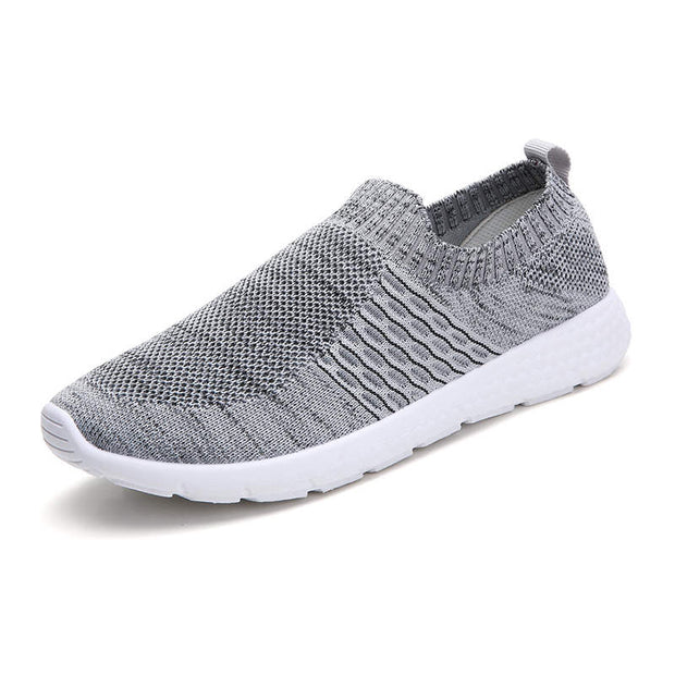 Women Casual Mesh-Comfortable Slip On Walking Running Sneakers