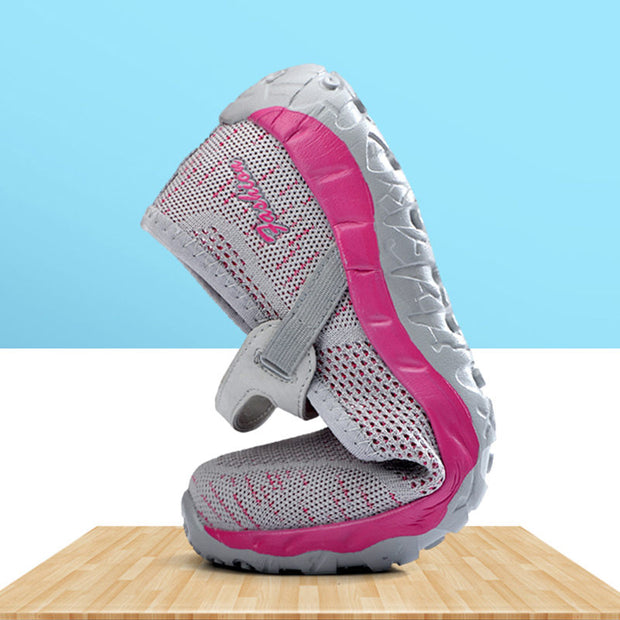 Women Mesh Fabrics Lightweight Breathable Flat Shoes