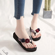 Women's Summer Flower Open Toe Sandals
