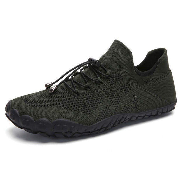 Men Summer Mesh Fabrics Non-slip Breathable Flats Water Shoes