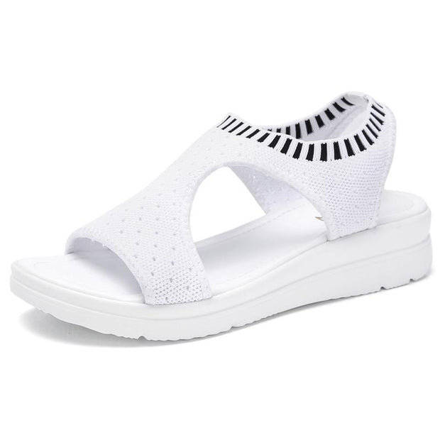 Women's Summer Breathable Mesh Hole Set Sandals