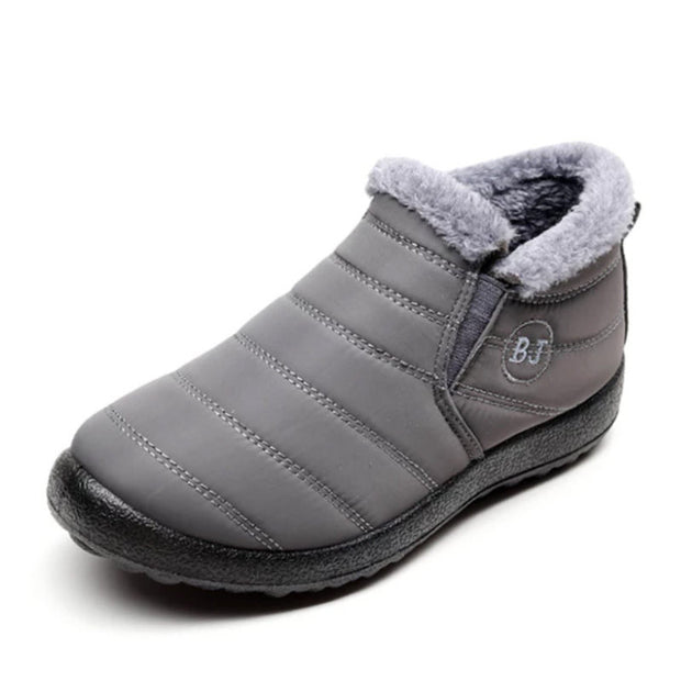 Men's Waterproof Soft Sole Slip On Warm Casual Snow Ankle Boots(Get 2nd One 20% Off)