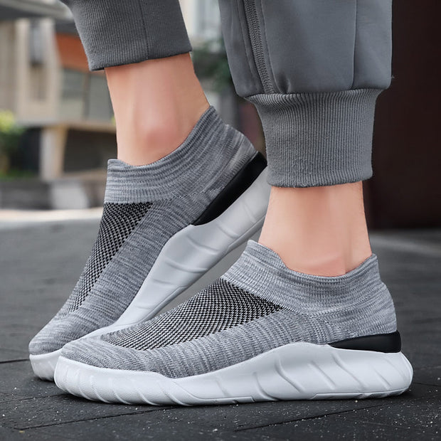Men's Classic Woven Breathable Casual Sock Shoes