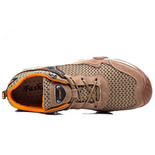 Men's Spring Autumn PU Leather Outdoor Casual Round-Toe Casual Shoes