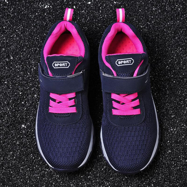 Women's Woven Breathable Athletic Walking Shoes