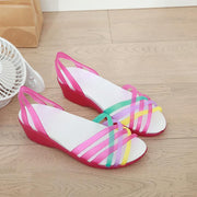 Women's Soft Waterproof Pumps Sandals