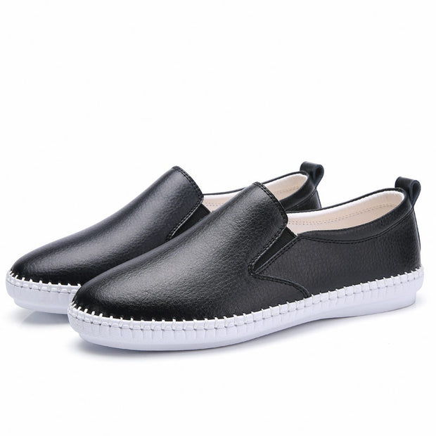 Women Handmade Slip-on Casual Driving Loafers