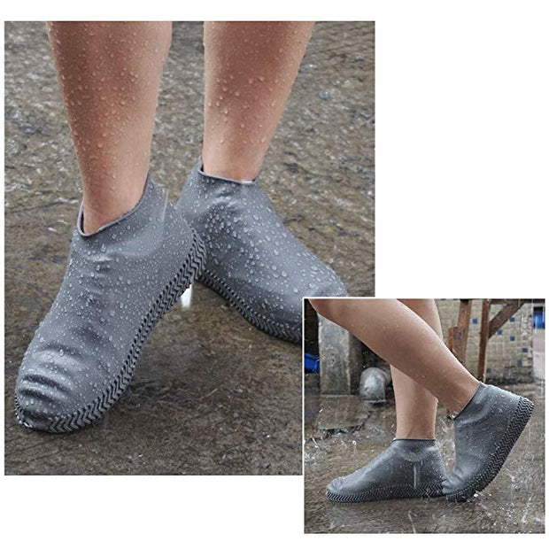 Women's Summer Solid Moisture-proof Anti-slip Shoes Covers