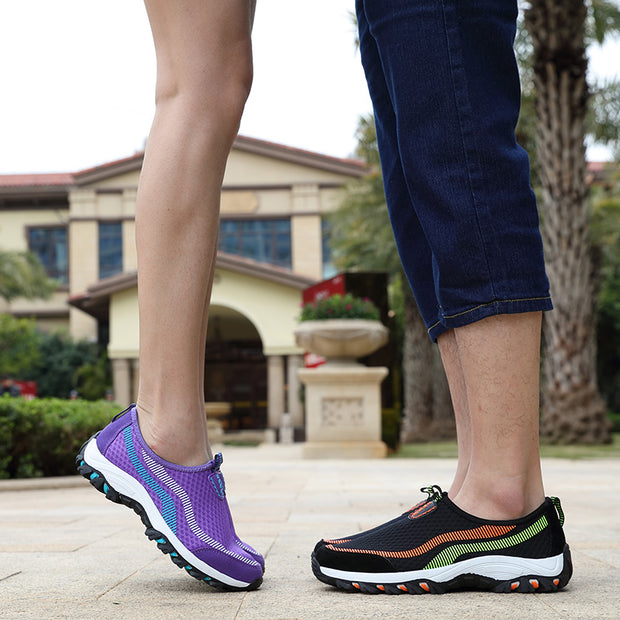 Unisex Summer Set Of Solid Fashion Breathable Casual Shoes (Get 2nd One 20% Off)
