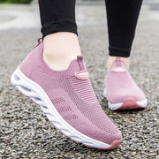 Women Fashion Mesh Fabrics Athletic Shoes Soft Casual Shoes