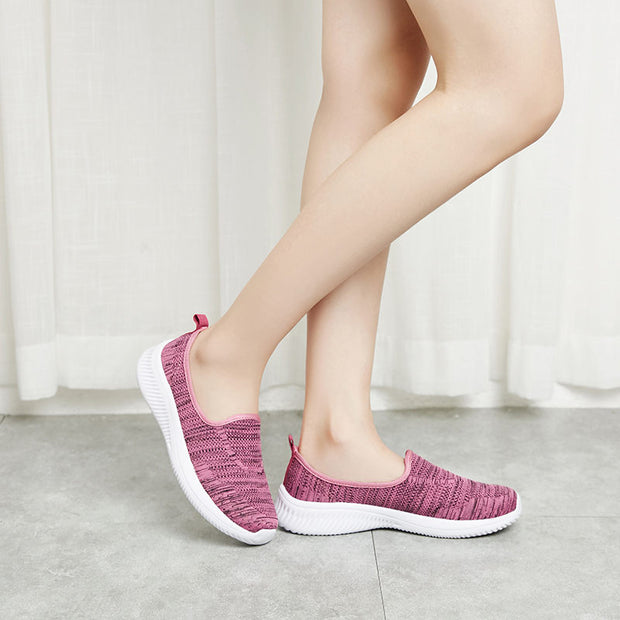 Women Spring Autumn Soft Casual Round-Toe Athletic Shoes