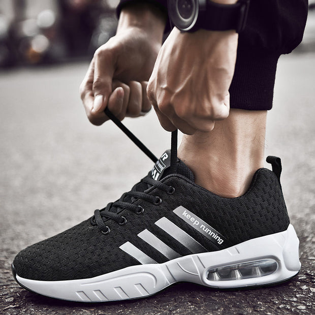 Men's Summer Autumn Soft Casual Round-Toe Athletic Shoes