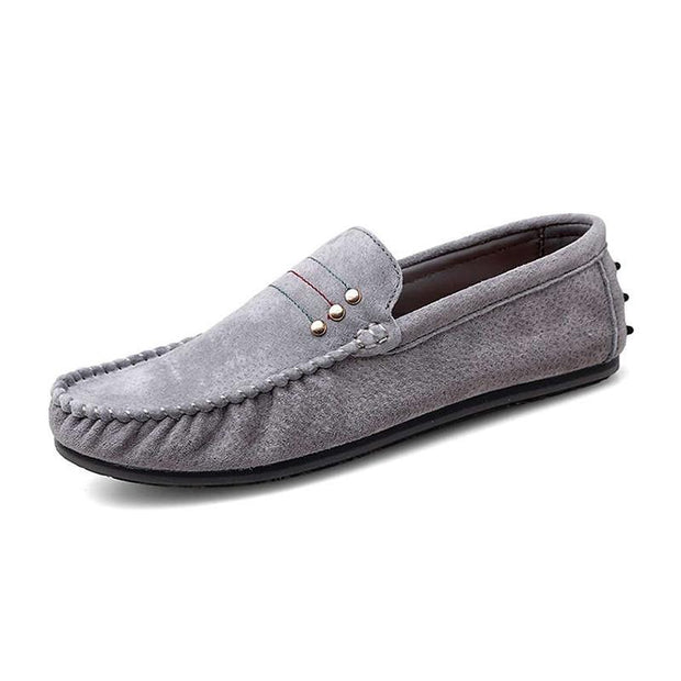 Men's Rubber Casual Round-Toe  Business Shoes