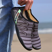 Unisex Mesh Fabrics Flats Beach Casual Shoes Water Shoes