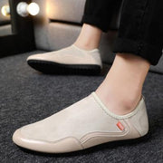 Men's Fashion Solid Flats Casual Shoes