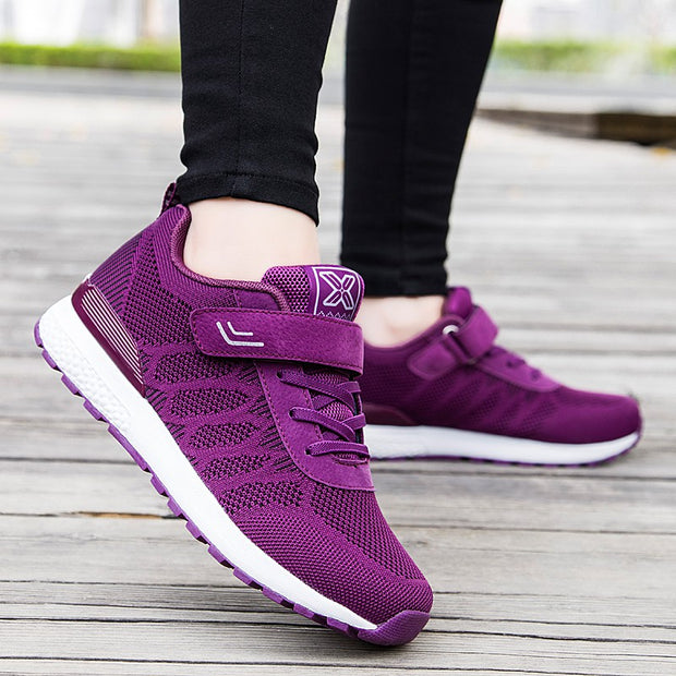 Women's Fashion Pumps Mesh Fabrics Casual Shoes  (Get 2nd One 20% Off)