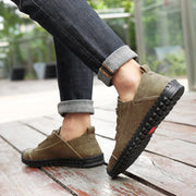 Men's Summer Soft Flats Anti-slip Casual Shoes
