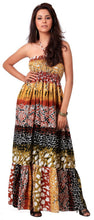Load image into Gallery viewer, LA LEELA Soft Printed Sundresses Luau Coverup Womens Multi 1588 One Size