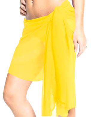 la-leela-sheer-chiffon-swimwear-pareo-women-sarong-solid-81x21-yellow_265-yellow_i291