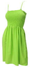 Load image into Gallery viewer, la-leela-womens-casual-tube-dress-beach-dress-bandeau-green_h104-one-size