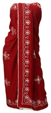 Load image into Gallery viewer, la-leela-rayon-swimwear-towel-womens-scaf-wrap-sarong-solid-72x42-red_17-red_f549