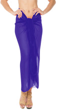 Load image into Gallery viewer, la-leela-sheer-chiffon-cover-up-swim-wrap-sarong-solid-85x42-royal-blue_1717-blue_c292