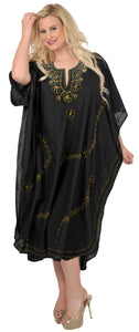 la-leela-lounge-rayon-solid-long-caftan-nightgown-women-OSFM 14-18W [L- 2X]-Halloween Black_J56