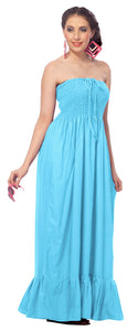 la-leela-evening-beach-swimwear-rayon-solid-sundress-strapless-tube-dress-light-blue-2103-one-size