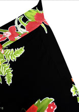 Load image into Gallery viewer, LA LEELA Men's Casual Beach hawaiian Shirt Aloha Tropical Beach  front Pocket Short sleeve Black