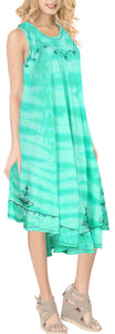 la-leela-rayon-tie-dye-womens-work-casual-dress-green_g405-osfm-14-20w-l-2x