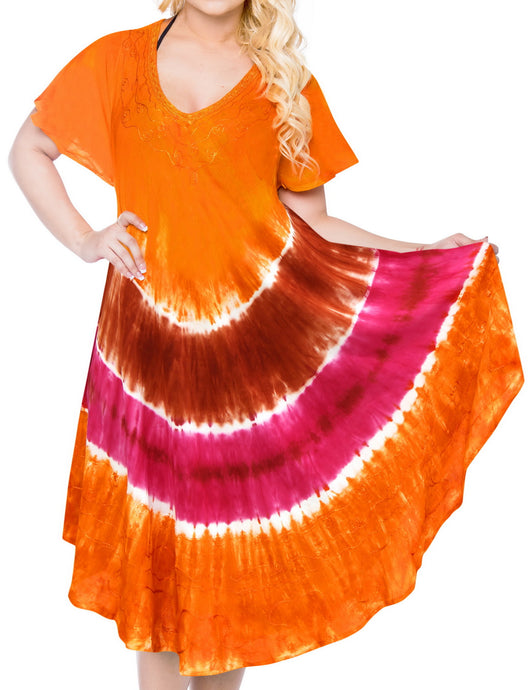 la-leela-dress-beach-cover-up-rayon-tie-dye-casual-luau-boho-swimwear-stretchy-osfm-14-20-l-2x-orange_3643