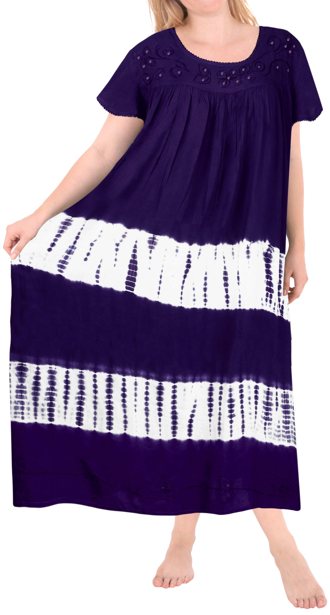 la-leela-rayon-tie-dye-casual-tank-tube-dress-beach-cover-up-purple_l654-osfm-14-22w-l-3x
