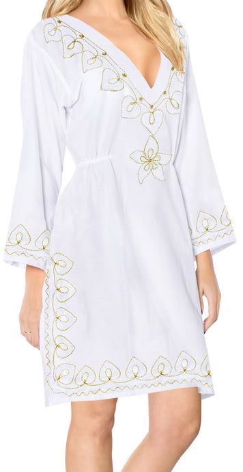 la-leela-rayon-womens-kaftan-style-nightgown-cover-up-dress-bathing-suit   White_i823 124758