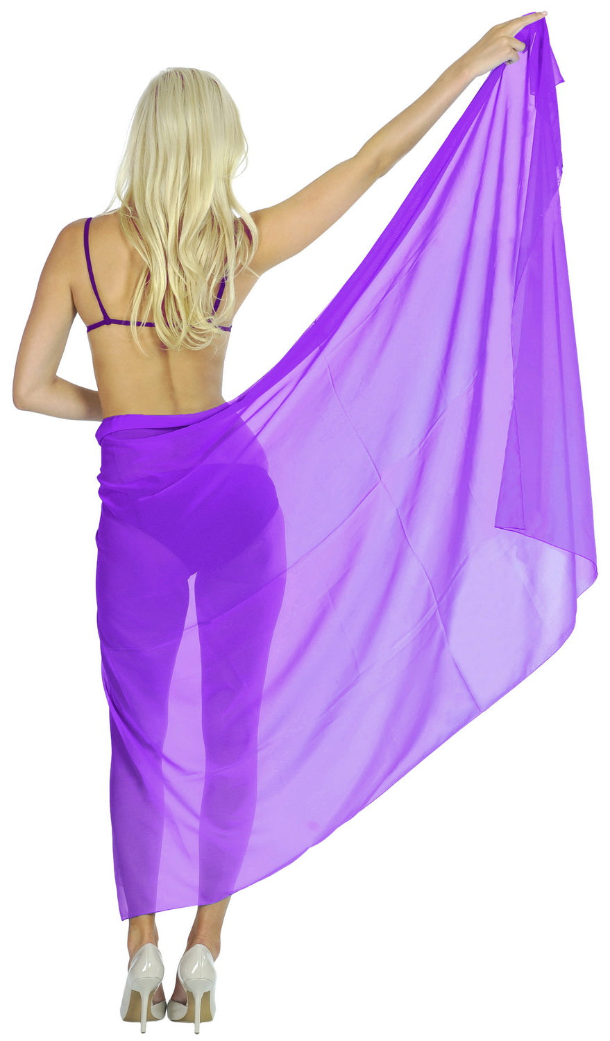 la-leela-sheer-chiffon-women-wrap-beach-sarong-solid-swimsuit-wrap-skirts-full-long-Violet_T245