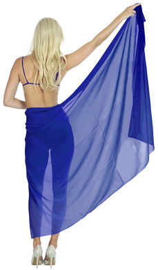 la-leela-sheer-chiffon-women-wrap-beach-sarong-solid-swimsuit-wrap-skirts-full-long-Blue_T242