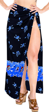 La Leela Soft Light Bathing Suit Women Sarong Printed 88