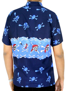 la-leela-mens-casual-beach-hawaiian-theme-shirt-aloha-tropical-beach-front-pocket-short-sleeve-blue