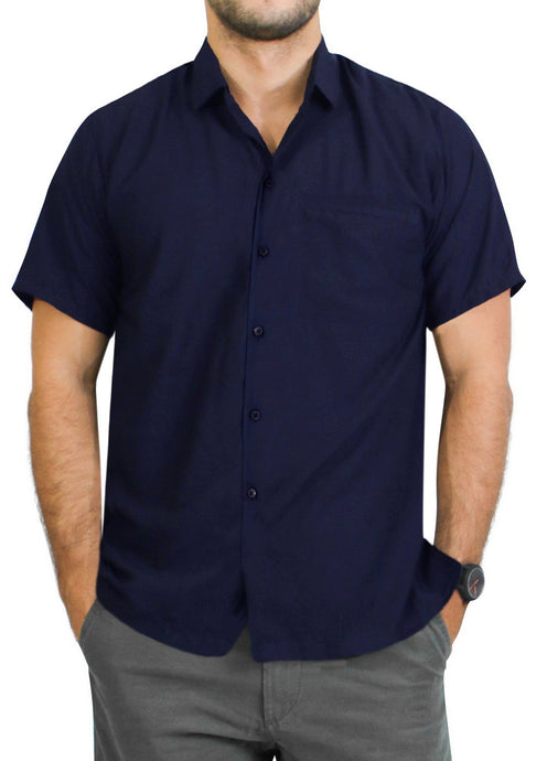 la-leela-mens-regular-size-beach-hawaiian-shirt-aloha-tropical-beach-front-pocket-short-sleeve-navy-blue