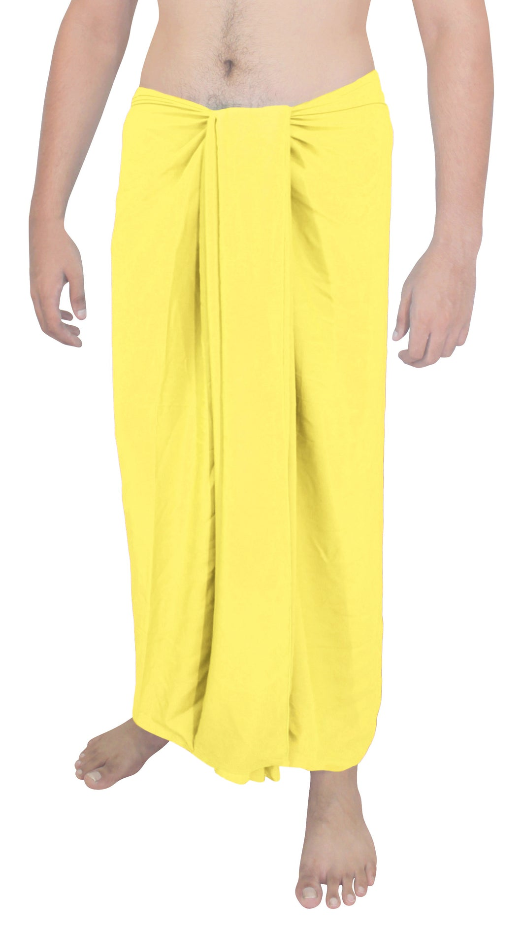 la-leela-men-sarong-rayon-solid-swimsuit-beach-pareo-towel-boys-wrap-78x39-yellow_6553