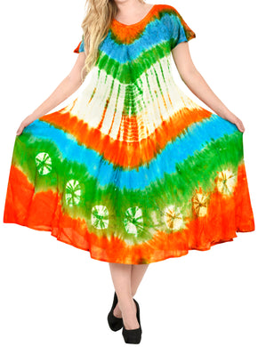 la-leela-casual-dress-beach-cover-up-rayon-tie-dye-top-caribbean-short-office-osfm-12-16-l-1x-orange_6247