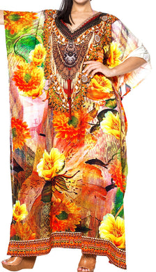 la-leela-soft-digital-top-caribbean-long-caftan-womens-multi-206-one-size-multicolor_v566