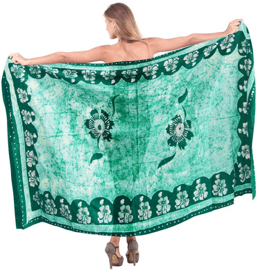 la-leela-rayon-hawaiian-bathing-suit-girls-sarong-batik-78x42-green_4149
