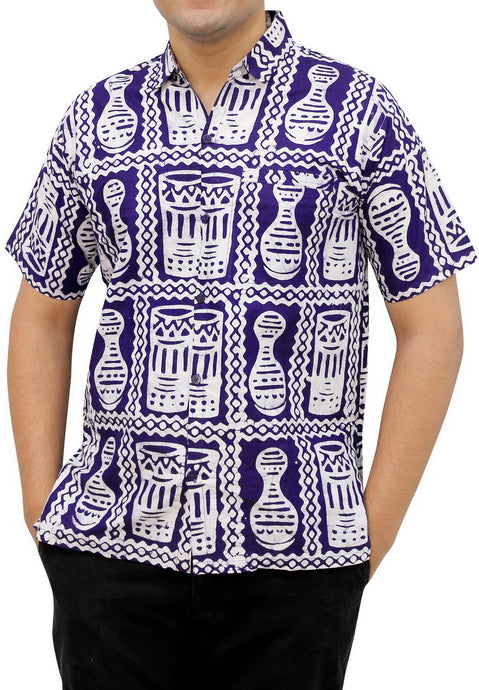 la-leela-mens-casual-beach-hawaiian-printed-shirt-aloha-tropical-beach-front-pocket-short-sleeve-violet