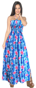 la-leela-evening-beach-swimwear-soft-printed-hawaiian-tube-dress-long-length-bright-blue-313-one-size