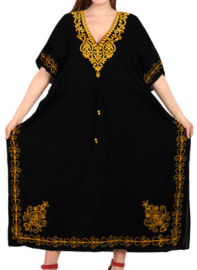 la-leela-lounge-rayon-solid-long-caftan-nightgown-women-black_1079-osfm-14-32w-l-5x