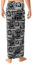 Load image into Gallery viewer, la-leela-men-sarong-soft-light-printed-casual-resort-pareo-boys-wrap-72x42-black_3090