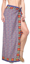 Load image into Gallery viewer, la-leela-soft-light-hawaiian-women-wrap-suit-sarong-digital-78x39-purple_4919