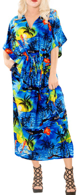 la-leela-lounge-likre-printed-long-caftan-drawstring-dress-blue_665-osfm-14-22w-l-3x