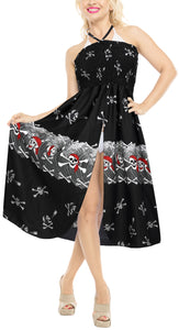 la-leela-womens-one-size-beach-dress-tube-dress-Black-one-size-halloween