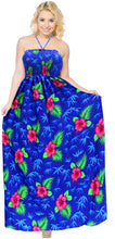 Load image into Gallery viewer, swimsuit-long-halter-swimwear-maxi-dress-cover-up-beachwear-evening-royal-blue